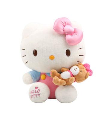 Hello Kitty蝴蝶结亮灯毛绒公仔(30cm)