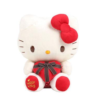 Hello Kitty爱的礼物毛绒公仔(40cm)