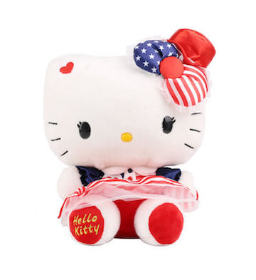 Hello Kitty美式毛绒公仔(30cm)