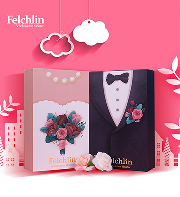 Felchlin进口巧克力圣诞挚爱礼盒装/相伴一生