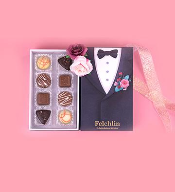 Felchlin进口巧克力圣诞挚爱礼盒装/王子