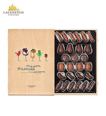 LAUENSTEIN 手工松露巧克力多口味酒心木盒27粒