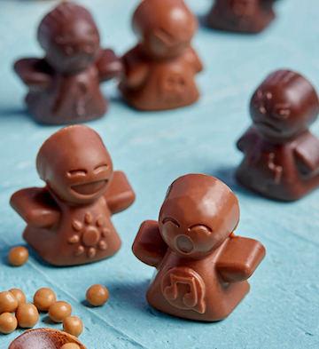 巧克巧蔻公仔巧克力