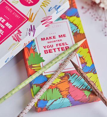 巧克巧蔻铅笔造型礼盒
