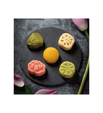 巧克巧蔻荷塘月色礼盒中秋送礼创意巧克力月饼