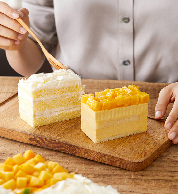 广州团购大全_榴芒双拼(约2磅):榴莲、奶油、巧克力、芒果、糖、面粉、黄油 ...
