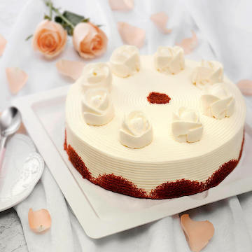 蔓越莓红丝绒奶油生日宴会澳门新濠天地网站(2磅)