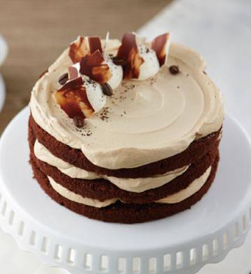 摩卡裸蛋糕(6寸)