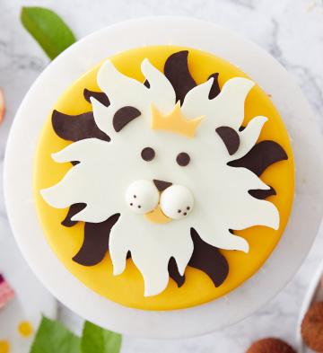 """狮子座""""你的皇冠""""仲夏热情蛋糕(6寸)"""