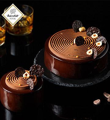 """""""榛爱""""巧克力慕斯蛋糕(4寸)"""