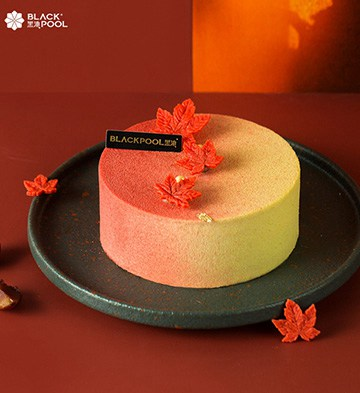 秋の味·栗子慕斯蛋糕(6寸)