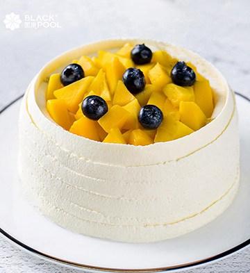 芒果软忌廉蛋糕(1磅)