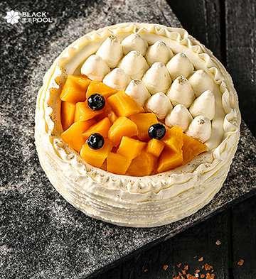 美杜莎榴莲&芒果蛋糕(1磅)