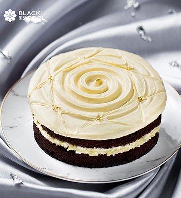 熔岩榴莲巧克力蛋糕(1磅)