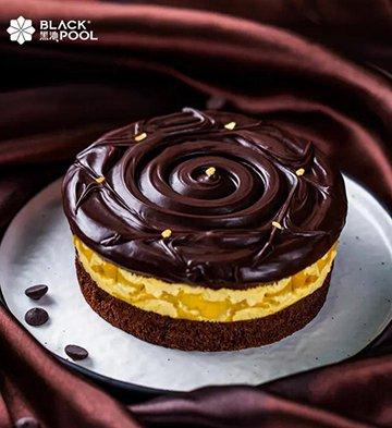 熔岩芒果巧克力蛋糕(1磅)