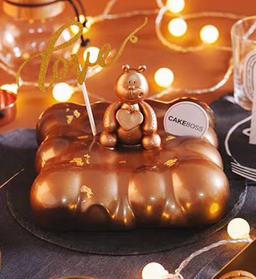 巧克力三重奏慕斯蛋糕(8寸/3磅)