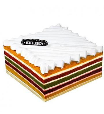 彩虹蛋糕(6寸)