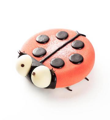 小瓢虫·双莓慕斯蛋糕