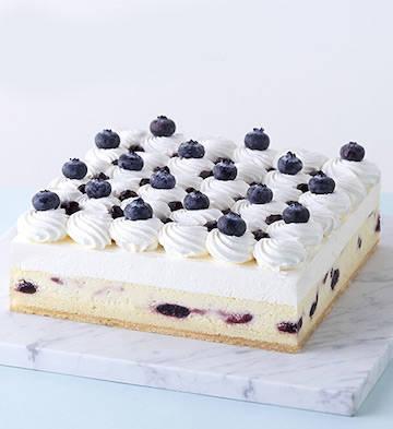 雪域蓝莓芝士蛋糕(5-8人食)