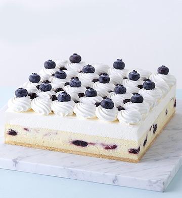 雪域蓝莓芝士蛋糕(10-12人食)